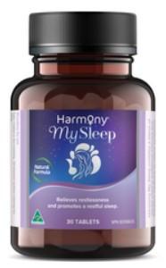 Harmony My Sleep, 30 Tabs | NutriFarm.ca