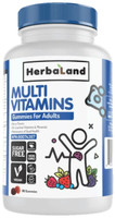 Herbaland Adults Multivitamins Gummies, 90 Gummies | NutriFarm.ca