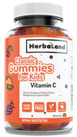 Herbaland Kids Vitamin C Classic Gummies, 60 Gummies | NutriFarm.ca