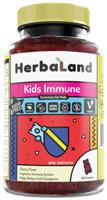 Herbaland Kids Immune Gummies, 90 Gummies | NutriFarm.ca