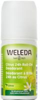 Weleda Citrus 24 hour Roll-on Deodorant, 50 ml | NutriFarm.ca