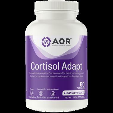 AOR Cortisol Adapt, 60 capsules | NutriFarm.ca