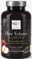 New Nordic Hair Volume Gummies, 60 Gummies | NutriFarm.ca