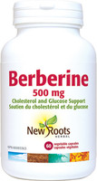 New Roots Berberine 500 mg, 60 VCaps | NutriFarm.ca