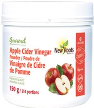 New Roots Apple Cider Vinegar Powder, 150 g | NutriFarm.ca