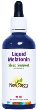 New Roots Liquid Melatonin, 95 ml | NutriFarm.ca