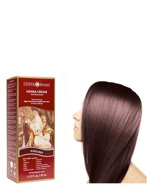 Surya Brasil Henna Cream Burgundy, 70 ml | NutriFarm.ca
