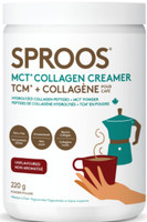 Sproos MCT Collagen Creamer, 220 g | NutriFarm.ca