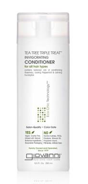 Giovanni Cosmetics Tea Tree Triple Treat Invigorating Conditioner, 250 ml  | NutriFarm.ca