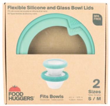 Food Huggers 2 Set of Lids(S, M size)