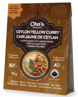 Cha's Organics Ceylon Yellow Curry, 2 bags bundle (55g each) | NutriFarm.ca