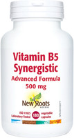 New Roots Vitamin B5 Synergistic, 180 Vegetable Capsules | NutriFarm.ca