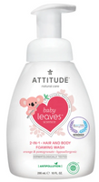 Attitude 2 in 1 Hair and Body Foaming Wash Orange Pomegranate, 295 ml | NutriFarm.ca