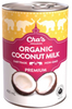 Cha's Organics Premium Coconut Milk, 400 ml | NutriFarm.ca