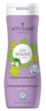 Attitude 2 in 1 Shampoo & Body Wash Vanilla and Pear, 473 ml | NutriFarm.ca