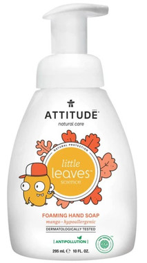 Attitude Foaming Hand Soap Mango,  295 ml | NutriFarm.ca