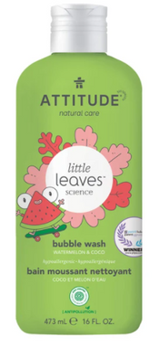 Attitude Bubble Bath Watermelon Coco, 473 ml | NutriFarm.ca