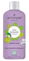 Attitude Bubble Bath Vanilla Pear, 473 ml | NutriFarm.ca