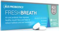 BLIS Probiotics FreshBreath with BLIS K12, 40 lozenges | NutriFarm.ca