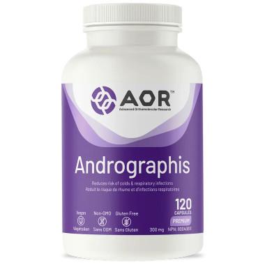 AOR Andrographis, 120 capsules | NutriFarm.ca
