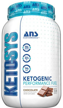 Ans Performance Ketosys Protein Powder Chocolate, 924 g   NutriFarm.ca