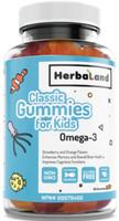 Herbaland Classic Gummies for Kids Omega 3, 60 gummies | NutriFarm.ca