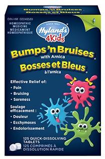 Hyland's 4 Kids Bumps' n Bruises, 125 tabs | NutriFarm.ca