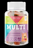 SUKU The Complete Kid's Multi, 60 gummies   NutriFarm.ca