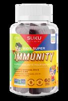 SUKU Kid's Super Immunity, 60 gummies   NutriFarm.ca