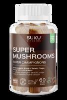 SUKU Super Mushrooms, 60 gummies   NutriFarm.ca