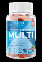 SUKU The Complete Men's Multi, 60 gummies    NutriFarm.ca