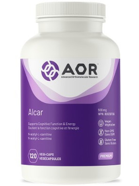 AOR Alcar, 120 Vegetable Capsules | NutriFarm.ca
