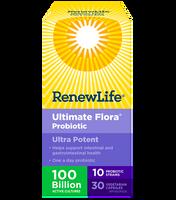 RENEW LIFE Ultimate Flora Ultra Potent 100 Billion, 30 Vegetable Capsules | NutriFarm.ca