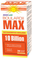 RENEW LIFE BoulardiiMAX 10 Billion, 30 Vegetable Capsules | NutriFarm.ca