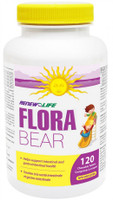 RENEW LIFE FloraBEAR, 120 Chewable Tablets | NutriFarm.ca
