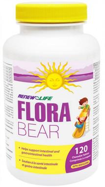 RENEW LIFE FloraBEAR, 120 Chewable Tablets | NutriFarm.ca