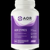 AOR Zymes, 100 Capsules | NutriFarm.ca