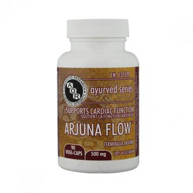 AOR Arjuna Flow, 90 Vegetable Capsules | NutriFarm.ca