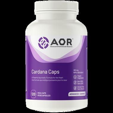 AOR Cardana Caps, 120 Vegetable Capsules   NutriFarm.ca