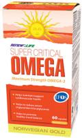 RENEW LIFE Norwegian Gold Super Critical Omega, 60 Capsules | NutriFarm.ca
