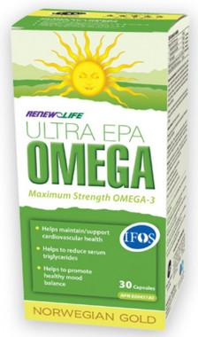 RENEW LIFE Norwegian Gold Ultra EPA, 30 Capsules | NutriFarm.ca