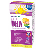 RENEW LIFE Norwegian Gold Kids DHA, 60 + 20 Free Chewable Softgels | NutriFarm.ca
