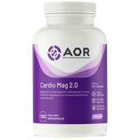 AOR Cardio Mag 2.0, 120 Vegetable Capsules | NutriFarm.ca