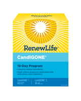 RENEW LIFE CandiGONE kit, 15 days kit | NutriFarm.ca