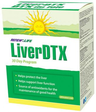 RENEW LIFE LiverDTX kit, 30 days kit | NutriFarm.ca