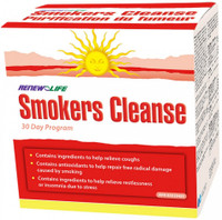 RENEW LIFE Smokers Cleanse Kit, 30 Days Kit | NutriFarm.ca