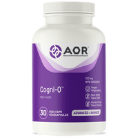 AOR Cogni-Q, 30 Vegetable Capsules | NutriFarm.ca