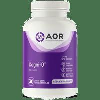 AOR Cogni-Q, 30 Vegetable Capsules | NutriFarm.ca