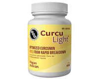 AOR CurcuLight, 30 Vegetable Capsules | NutriFarm.ca