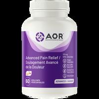 AOR Advanced Pain Relief (Formerly Fem Ease), 60 Vegetable Capsules | NutriFarm.ca